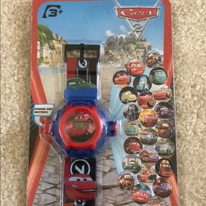 Disney Cars 2 projection watch